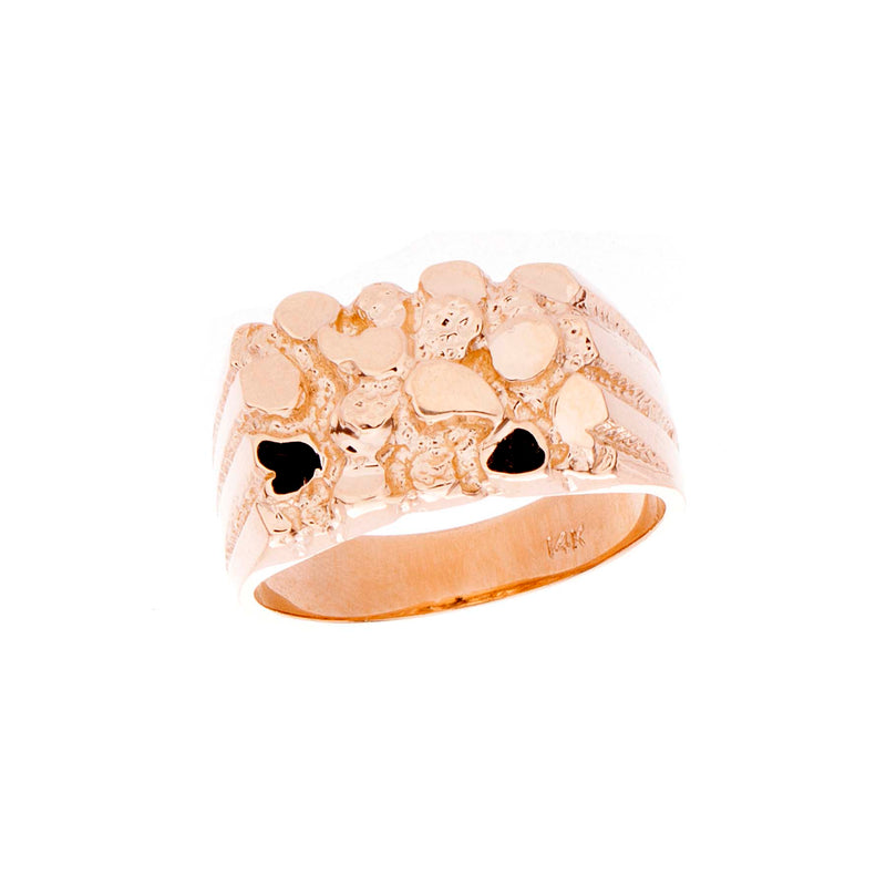 Mens Nugget Ring