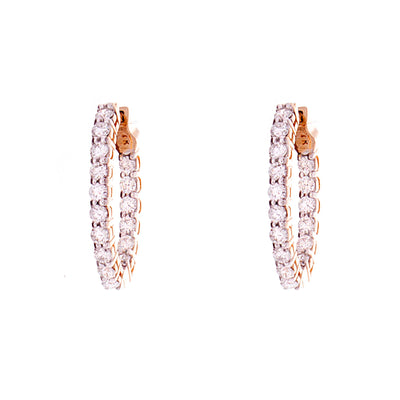 Diamond Hoops - Jewelry Store in St. Thomas | Beverly's Jewelry