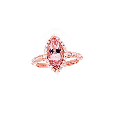 Morganite Ring - Jewelry Store in St. Thomas | Beverly's Jewelry