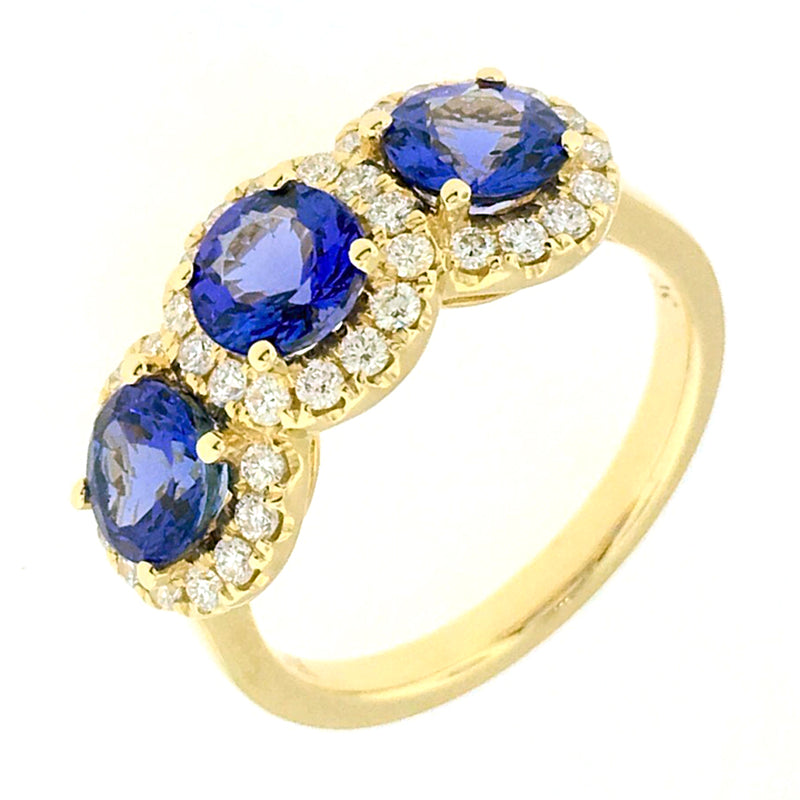 Tanzanite Ring - RT532 T-1