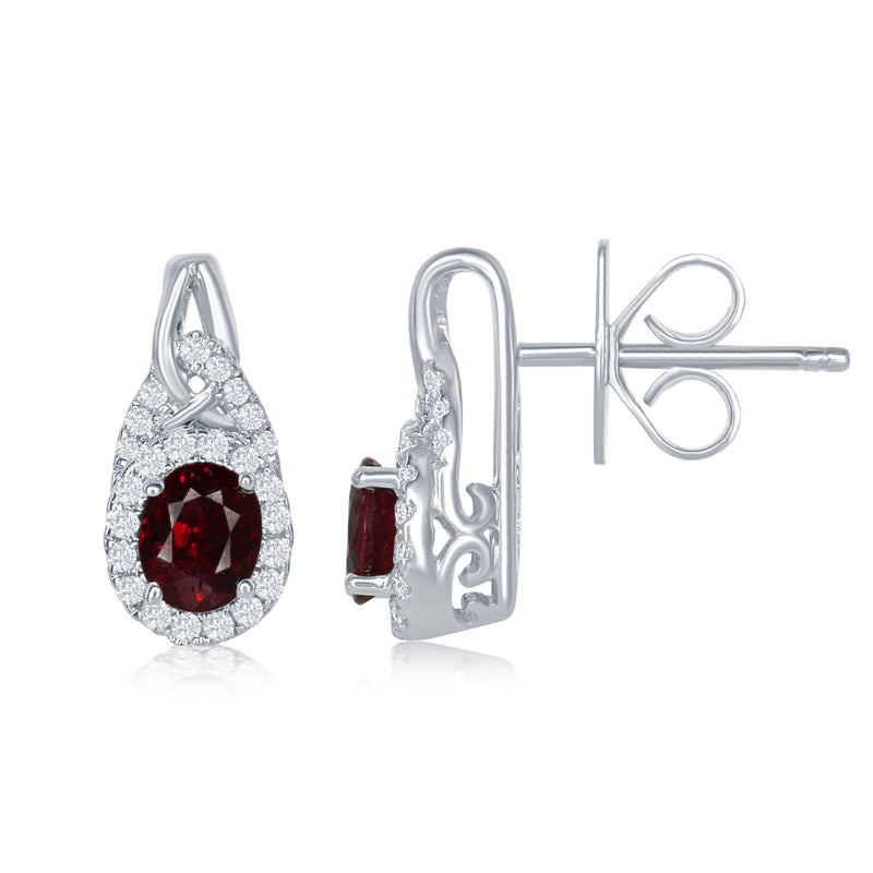 Ruby Earrings - 7Z6JCJ