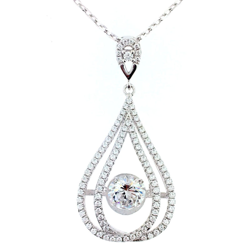 Silver Necklace - MP13048A-C