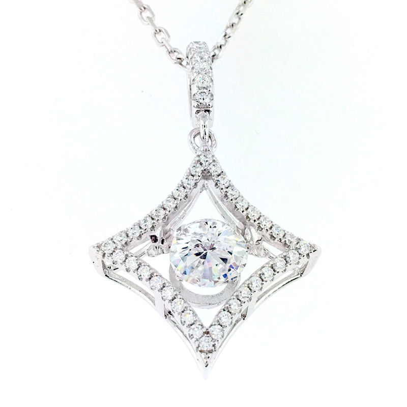 Silver Necklace -MP13201A-C