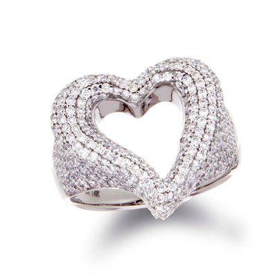 Diamond Heart Ring - Jewelry Store in St. Thomas | Beverly's Jewelry