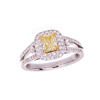 Fancy Yellow Diamond Ring - Jewelry Store in St. Thomas | Beverly's Jewelry