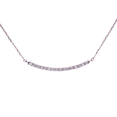 Diamond Bar Necklace - Jewelry Store in St. Thomas | Beverly's Jewelry