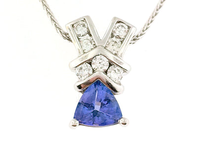Tanzanite Pendant - SI23Y5Z2 - Jewelry Store in St. Thomas | Beverly's Jewelry