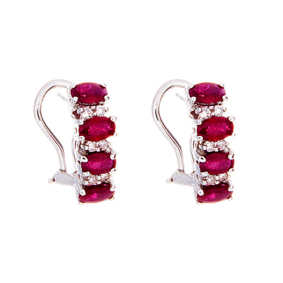 Ruby Earrings - Jewelry Store in St. Thomas | Beverly's Jewelry