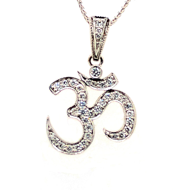 Diamond OM Pendant