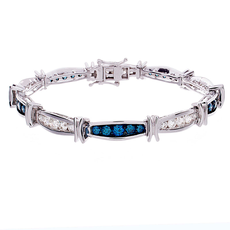 Blue Diamond Bracelet - TDD3219 BL
