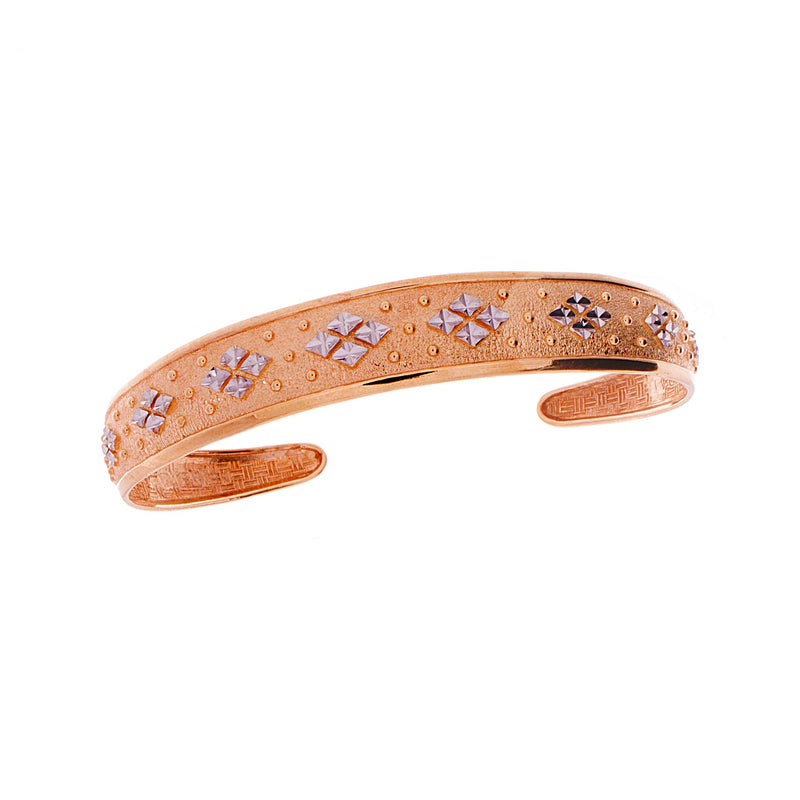 Gold Fancy Bangle
