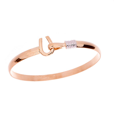 Gold Hook Bangle - Jewelry Store in St. Thomas | Beverly's Jewelry