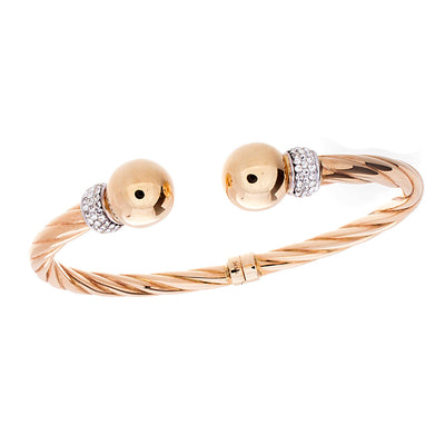 Fancy Gold Bangle - Jewelry Store in St. Thomas | Beverly's Jewelry