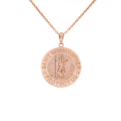 Gold St. Christopher Pendant - Jewelry Store in St. Thomas | Beverly's Jewelry