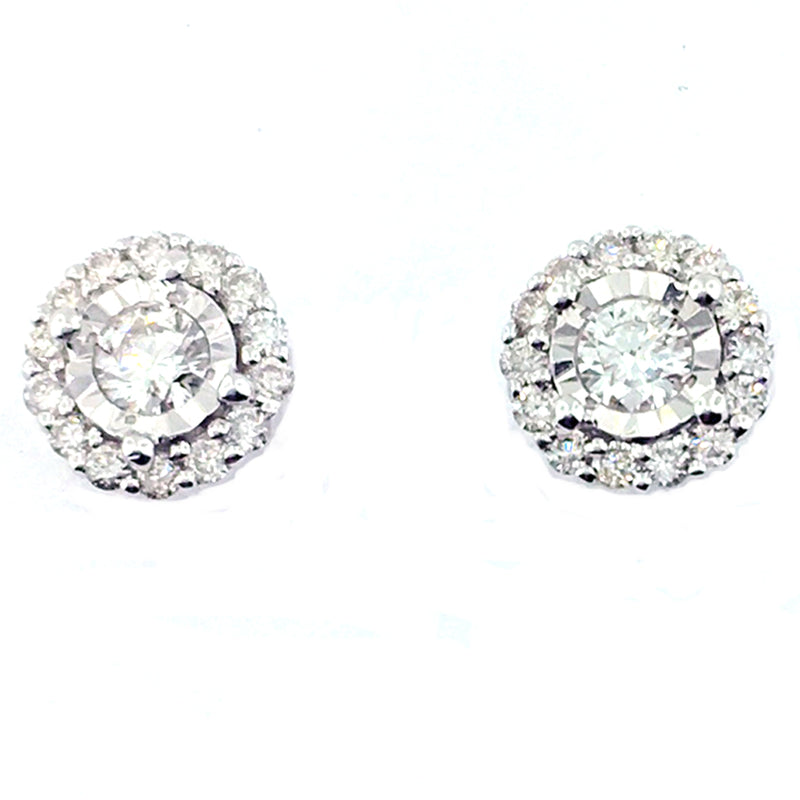 Diamond Earring - IE1072-F62PD81