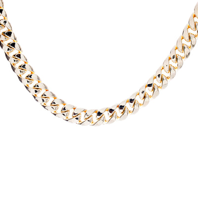 Gold Cuban Chain Semi Solid - Jewelry Store in St. Thomas | Beverly's Jewelry