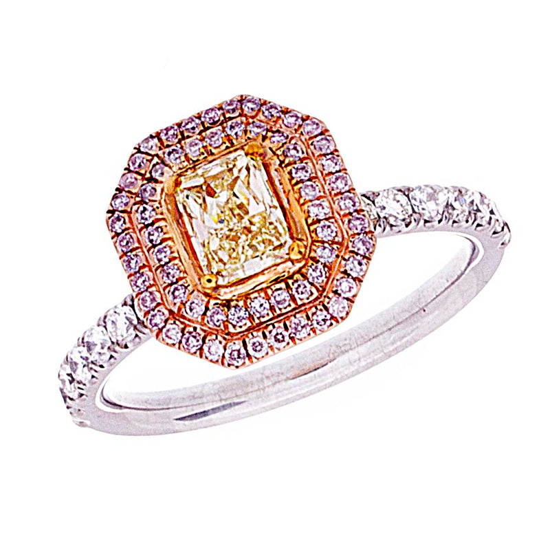 Fancy Yellow Diamond Ring - Signature Collection