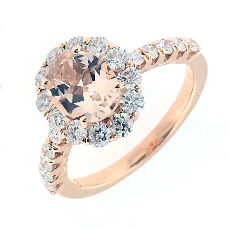Morganite Ring - 2789 R