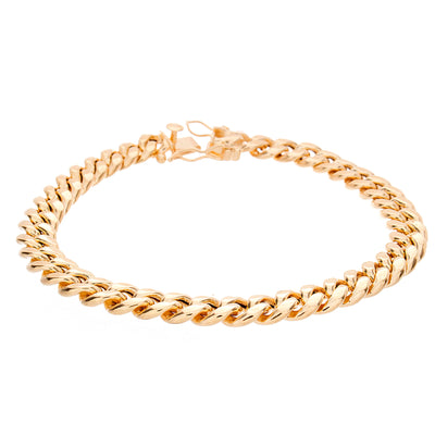 Gold Cuban Bracelet - Jewelry Store in St. Thomas | Beverly's Jewelry