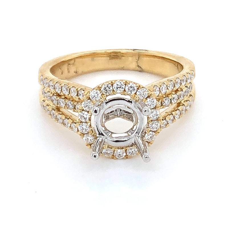Diamond Ring Semi-mount
