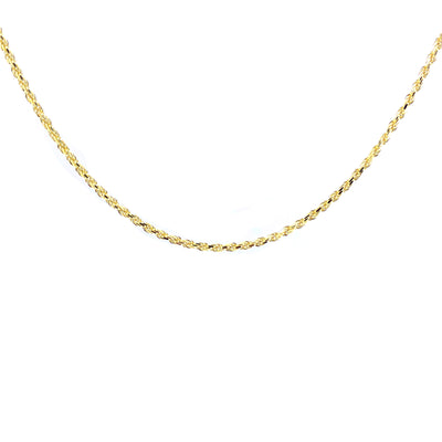 "Rope Chain 2.5mm 24"" - Jewelry Store in St. Thomas 