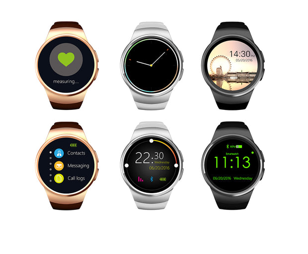 KW18 Smart Watch Premium Compatible ANDROID/IOS Phone