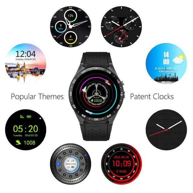 KW88 Smart Watch Premium Compatible ANDROID/IOS Phone