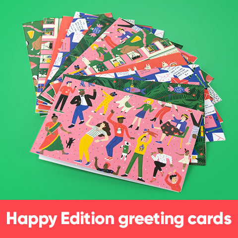 The Happy Edition Greeting Cards
