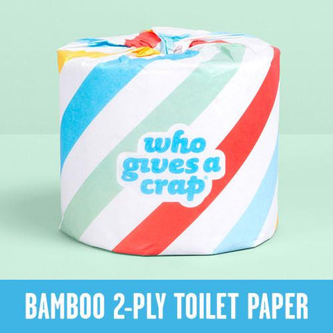 100% Bamboo Toilet Paper - 2-Ply - Triple Length Rolls