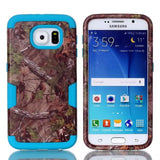 LizaTech Samsung Galaxy S6 Camouflage Real Tree Rugged Protective Cases