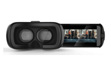 LizaTech 3D Virtual Reality Glasses with Bluetooth Remote Control for iPhone & Android