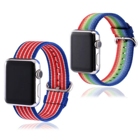 LizaTech Woven Nylon Replacement Band for Apple Watch