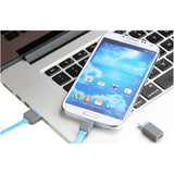 2-in-1 Micro USB Cable + 8 Pin Adapter for All iPhone 5/5C/5S (iPad Air) and Samsung/Blackberry Smartphones!