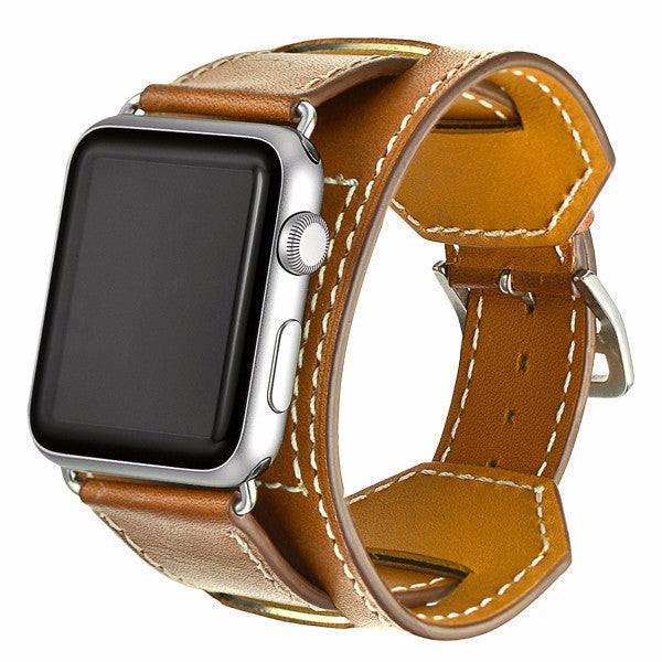LizaTech Genuine Leather Cuff for Apple Watch