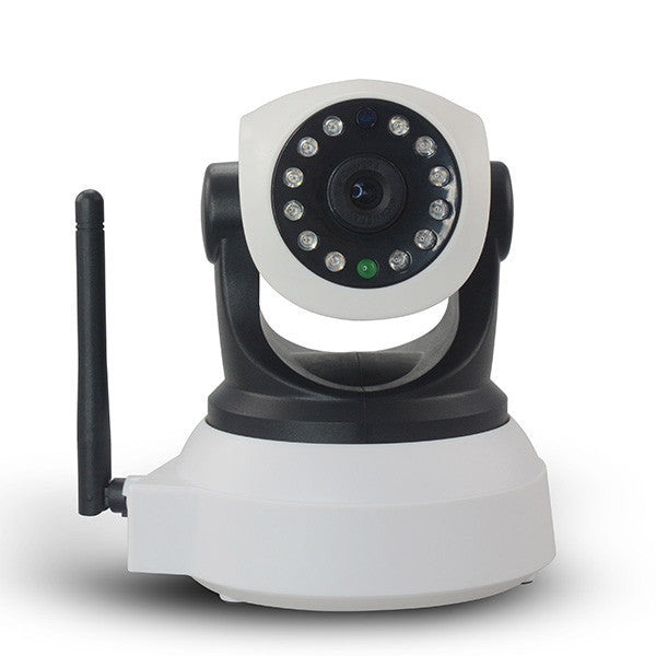 LizaTech 720P HD IP Camera - with Wifi Network, Night Vision, Two-Way Audio, & Pan/Tilt