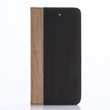 LizaTech Wood Style Wallet Case for iPhone 7/7+