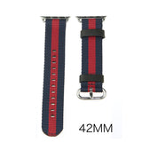LizaTech Leather & Nylon Band with Buckle for Apple Watch