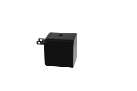 LizaTech USB Wall Plug with Hidden Camera - Black