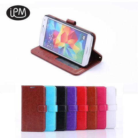 Samsung Galaxy S5 i9600 Wallet Leather Case With Free Screen Protector