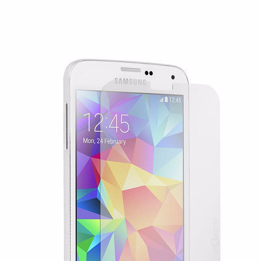 LizaTech Samsung Galaxy S5 Tempered Glass Rock Solid Screen Protector