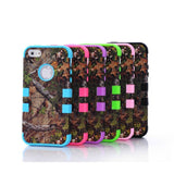 Camouflage Real Tree Rugged Protective Case For iPhone® 5, 5S