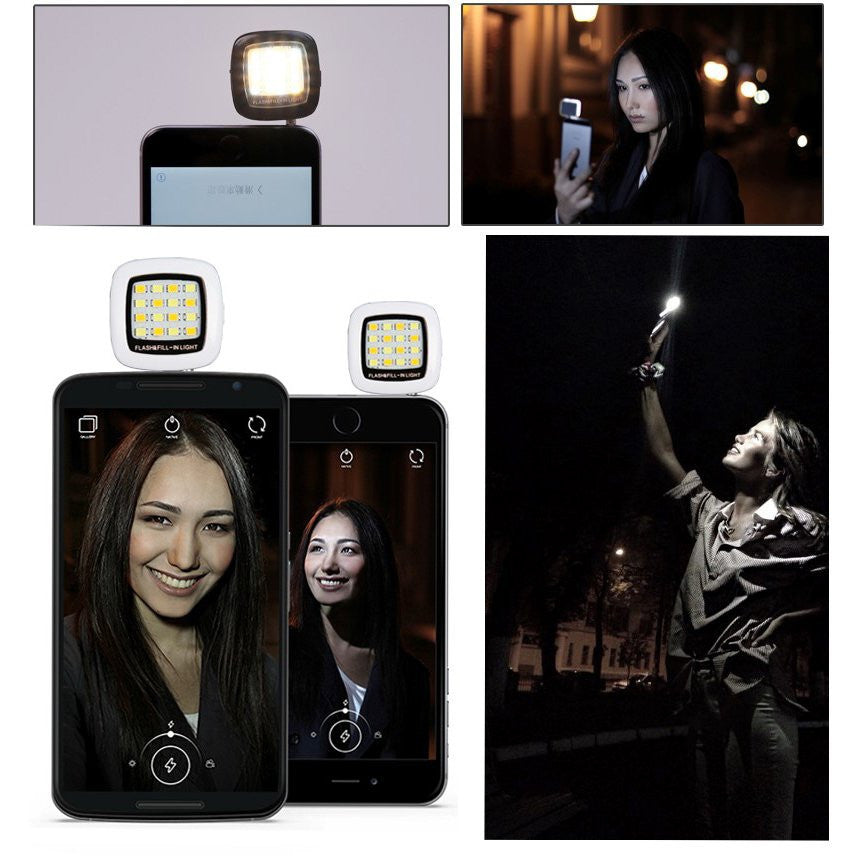 LizaTech 16-LED Flash for Photos & Selfies