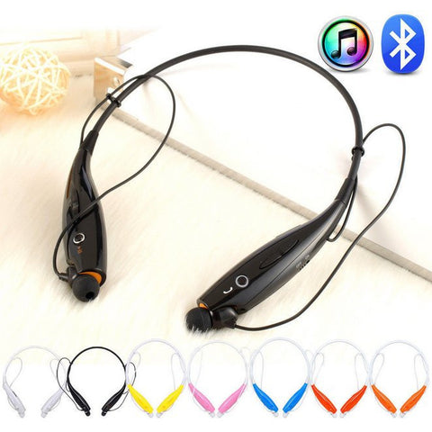 iPM Bluetooth Noise-Canceling Neckband Headset with Built-In Microphone