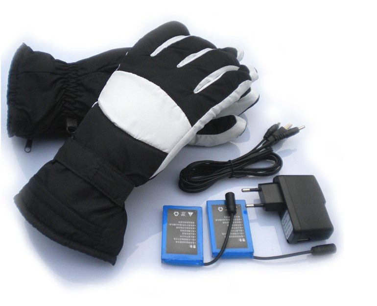 iPM Battery Heated Winter Gloves + 2 Rechargeable Batteries