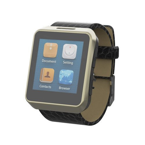 iPM Leather Strap Fashion Design Smart Watch