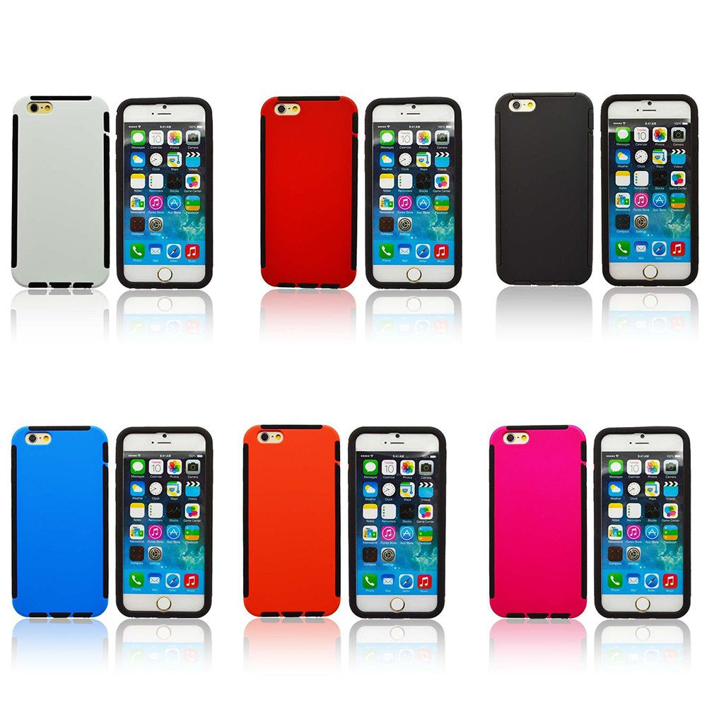 "LizaTech iPhone 6 ""Genzip"" Wrap Up Rugged Slim Case With Screen Protector"