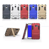 LizaTech Hybrid Shockproof Kickstand Case for Samsung Galaxy S6