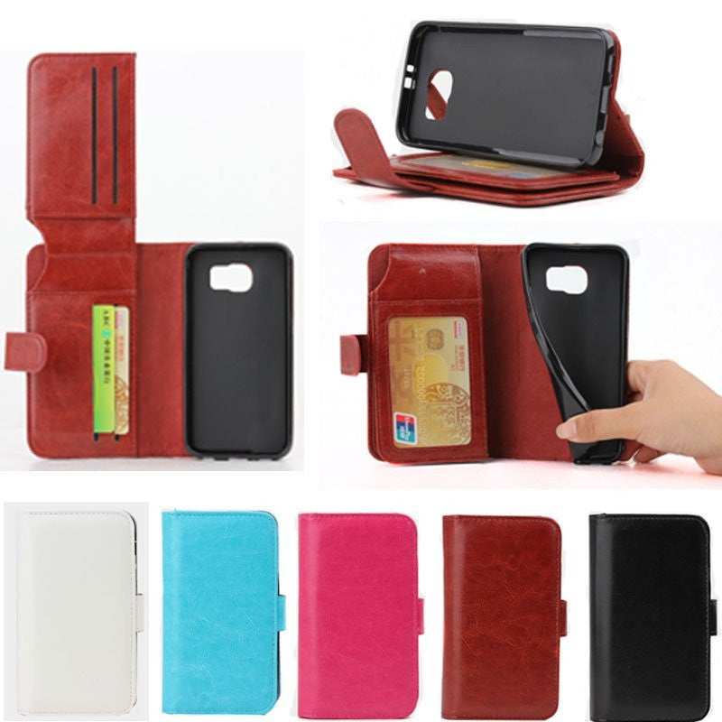 LizaTech Credit Card Holder Flip Wallet Case for Samsung Galaxy S6 G9200