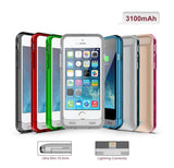 iPM Apple Certified iPhone 6 Power Charger Case - 2 Color Frames - 4 Amazing Colors!