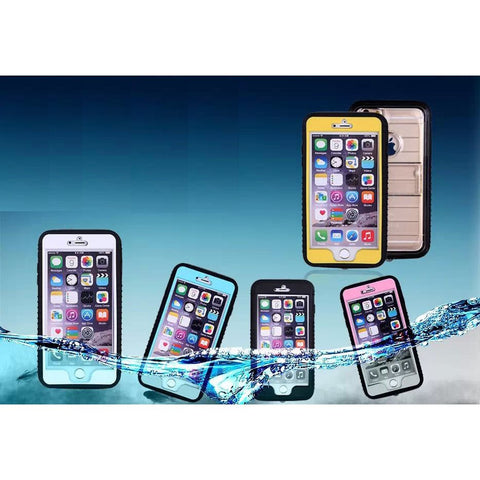 iPhone 6/6+ Shockproof – Dirt proof – Waterproof Protective Case